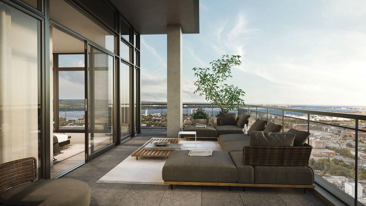 The Moderne - Indoor Outdoor Suite